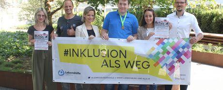 Symbolischer Startschuss für Inklusionslauf Ludwigsburg